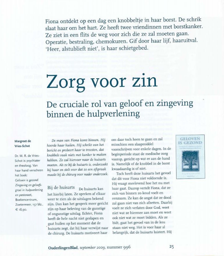 Ouderlingenblad 2009